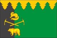 """Флаг городского поселения """"Рабочий поселок Чегдомын"""""""
